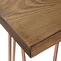 Bowes Hairpin Coffee Table, Tall - Limited Edition   Handmade